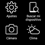 Galaxy Gear - Aplicaciones