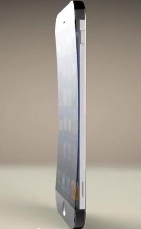 iPhone con pantala curvada