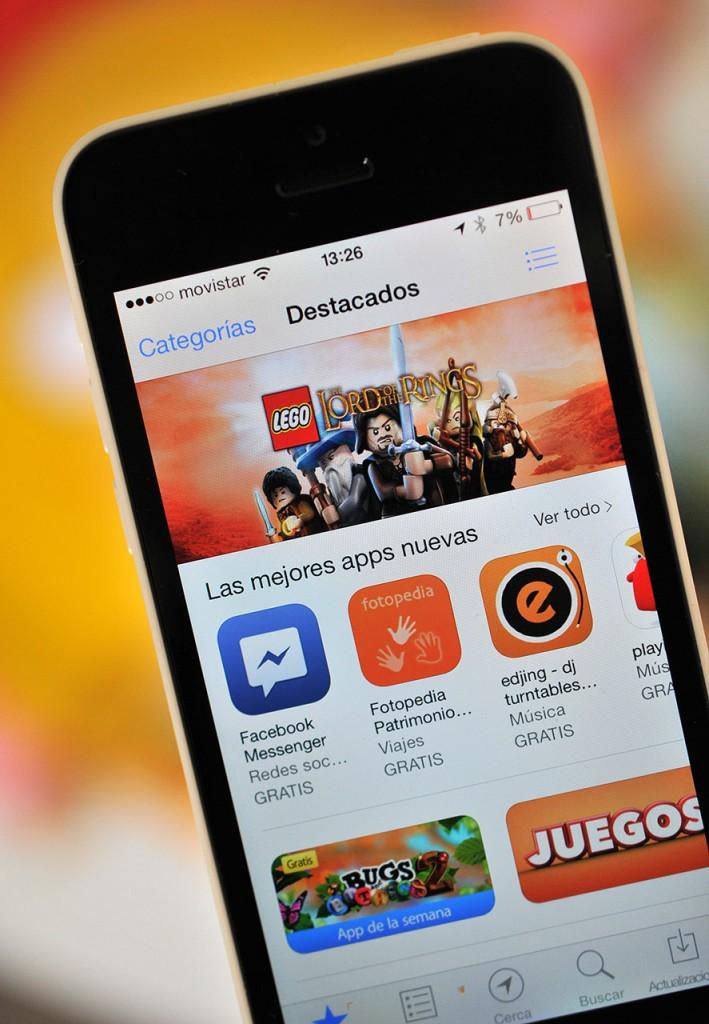 iPhone 5c - App Store