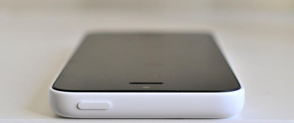 iPhone 5c - arriba