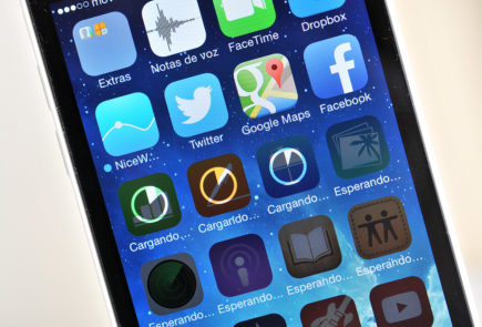 iPhone 5c - pantalla