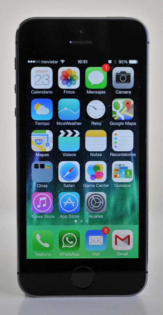iPhone 5s - delante