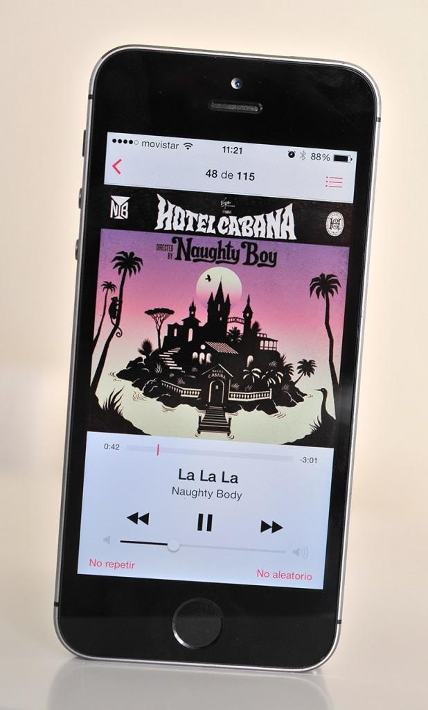iPhone 5s - musica