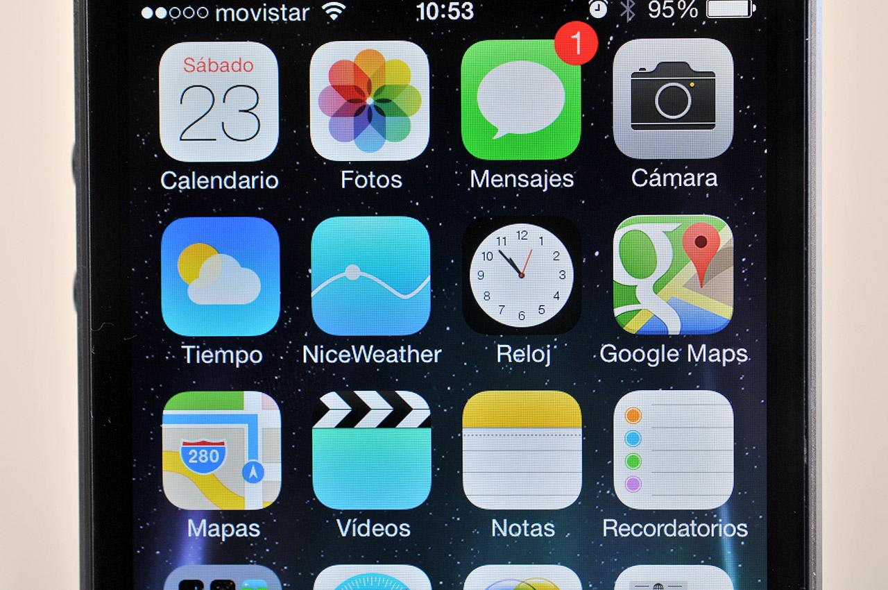 iPhone 5s - pantalla