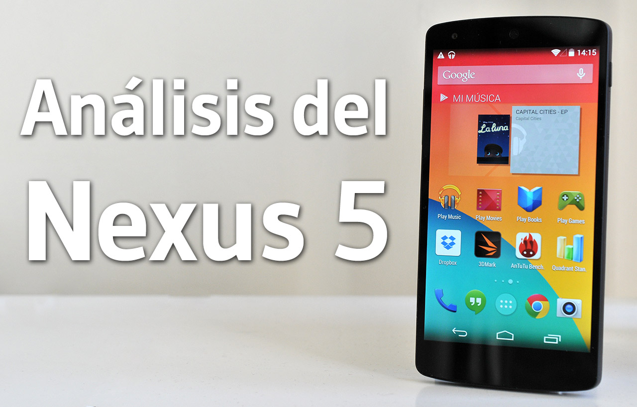 Google Nexus 5 - Analisis