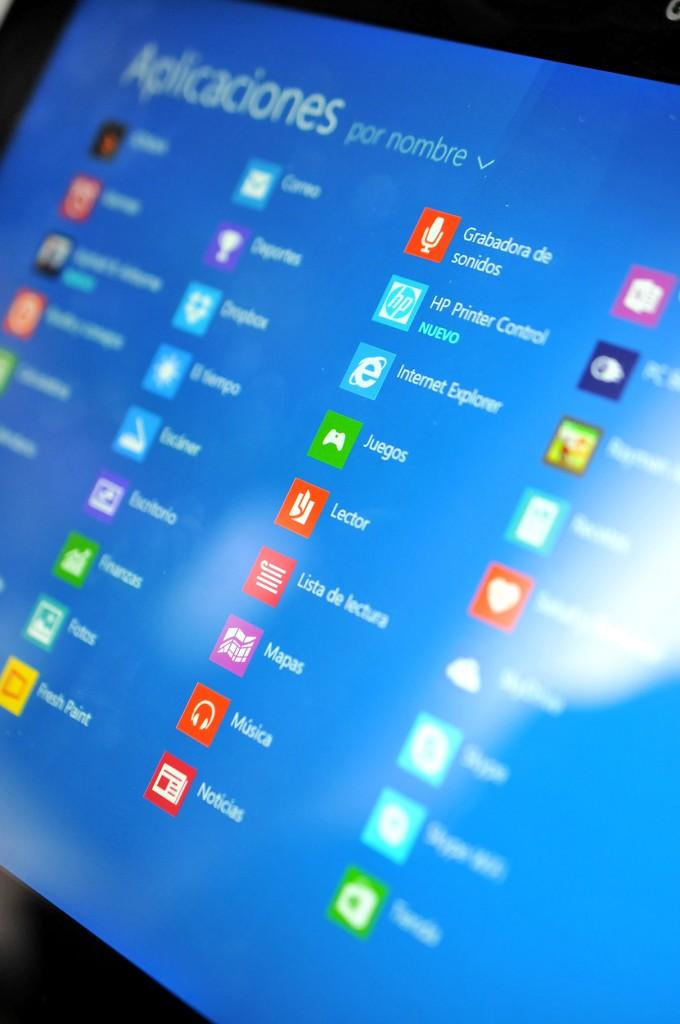 Microsoft Surace 2 - Aplicacones