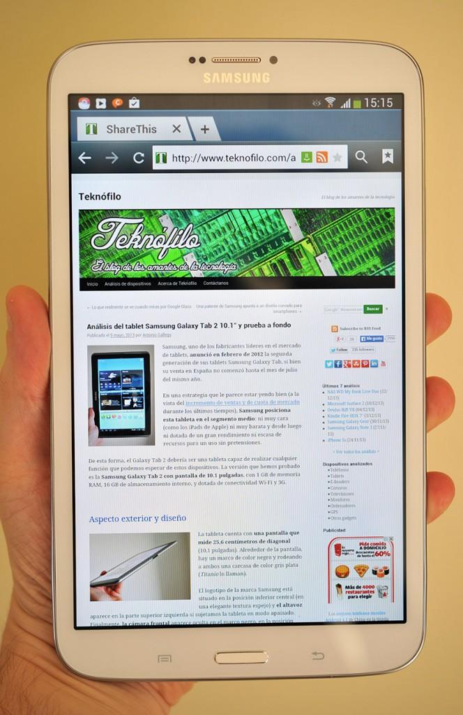 Samsung Galaxy Tab 3 8.0 - 1
