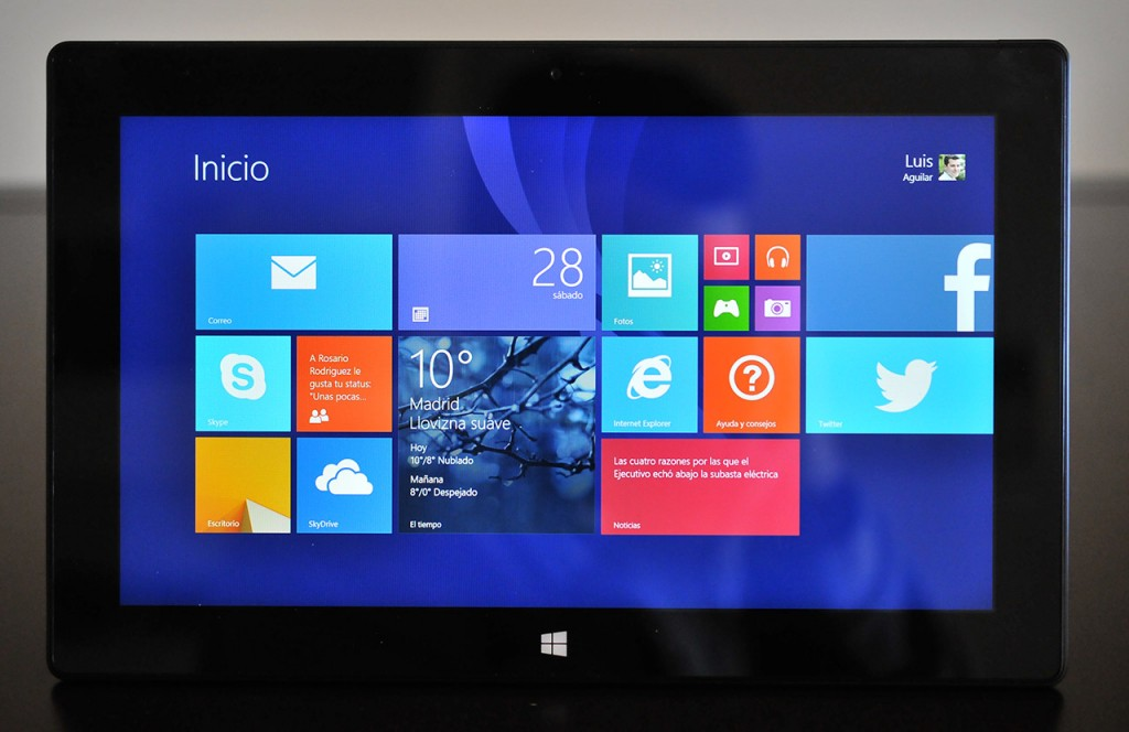 Surface Pro 2 - Frontal