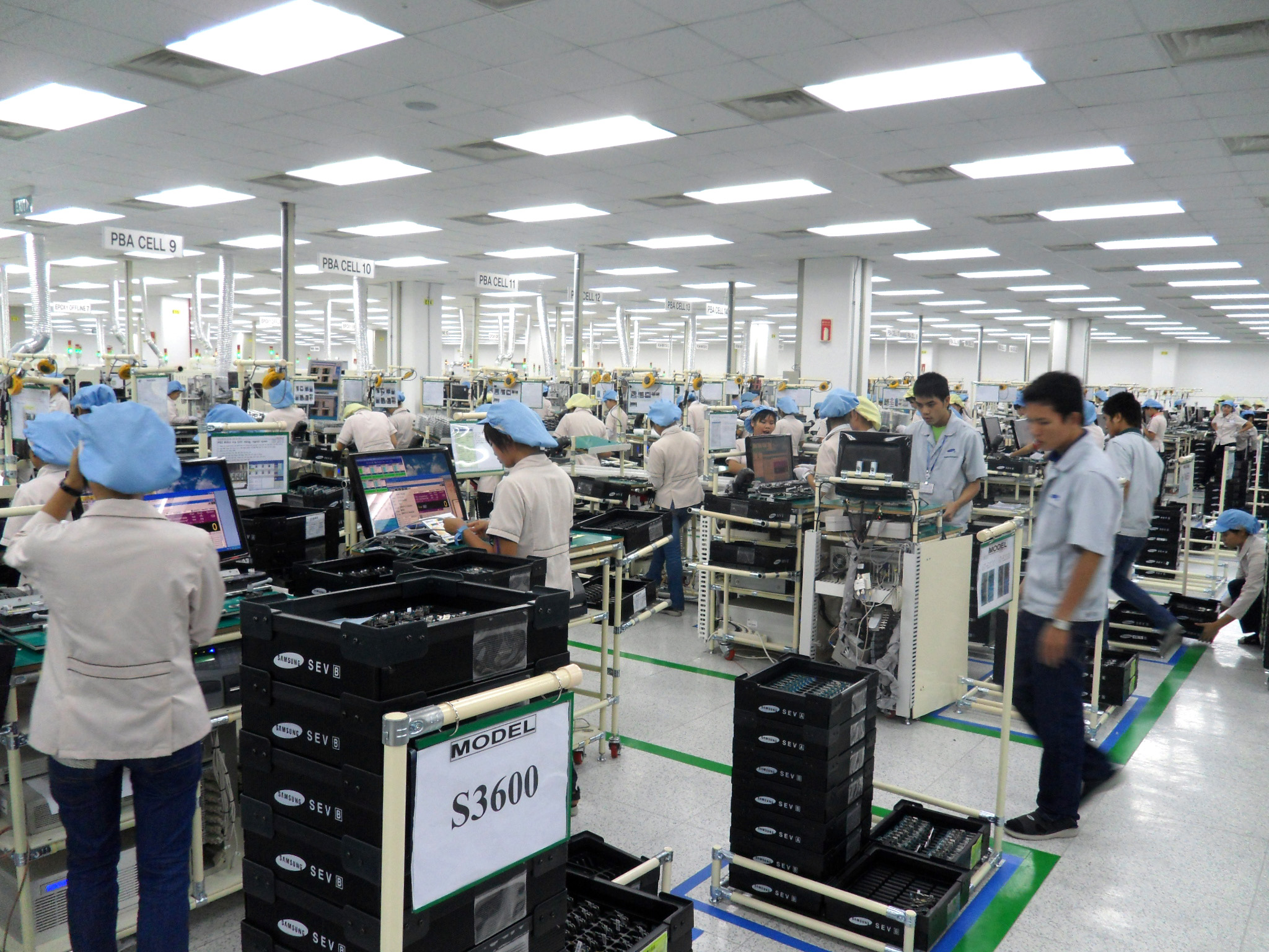 Fábrica de Samsung
