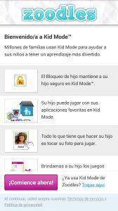 Modo Niños de HTC One Max
