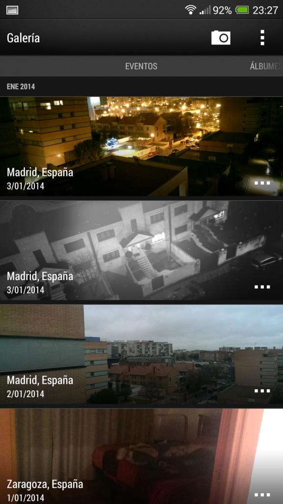 Álbumes de HTC One Max