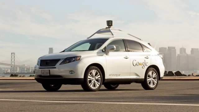 Google Lexus car