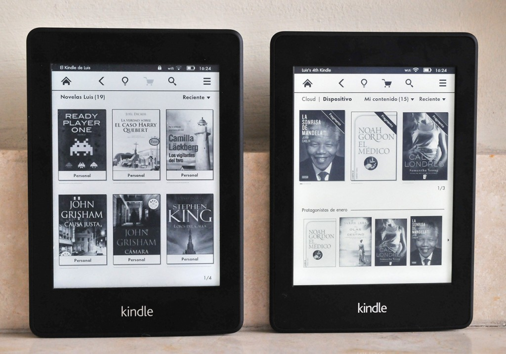 Kindle Paperwhite (2013) - Antiguo vs Nuevo