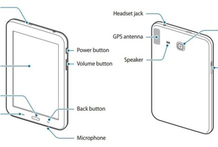 Samsung Galaxy 3 Tab Lite