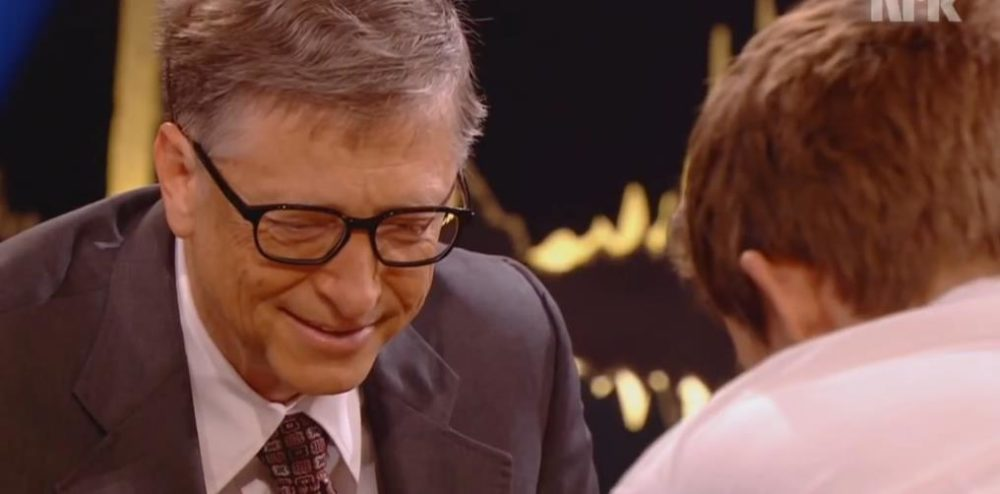 Bill Gates pierde al ajedrez