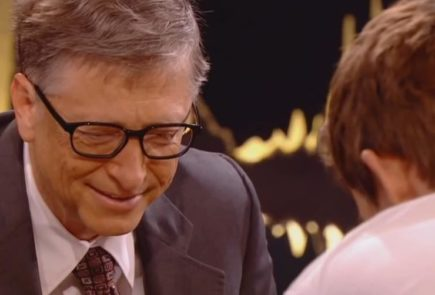 Bill Gates pierde al ajedrez