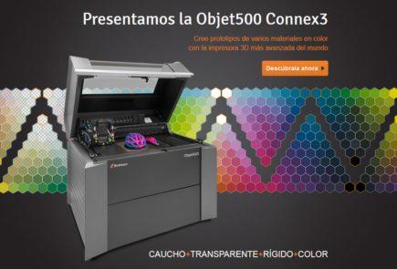 Impresora Objet500 Connex3