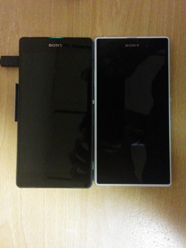 Sony Sirius vs Sony Xperia Z1