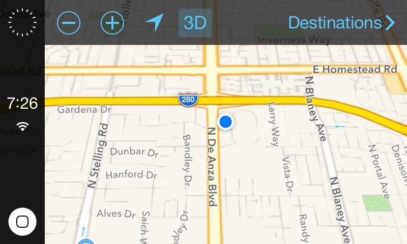 iOS in the car - 3