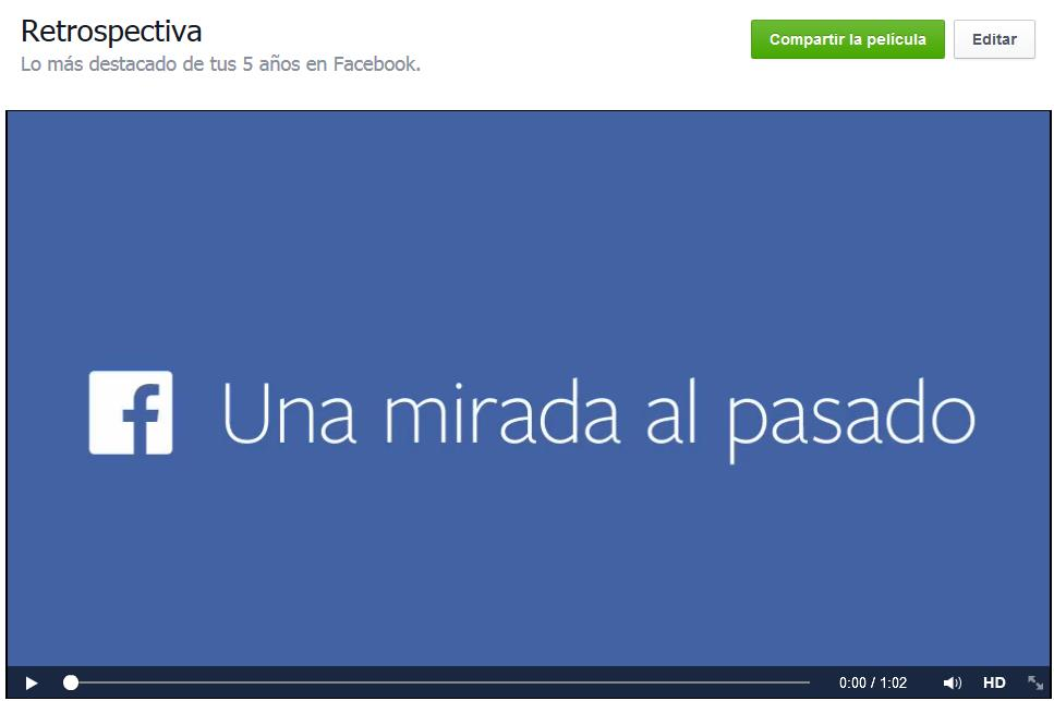 Facebook pelicula