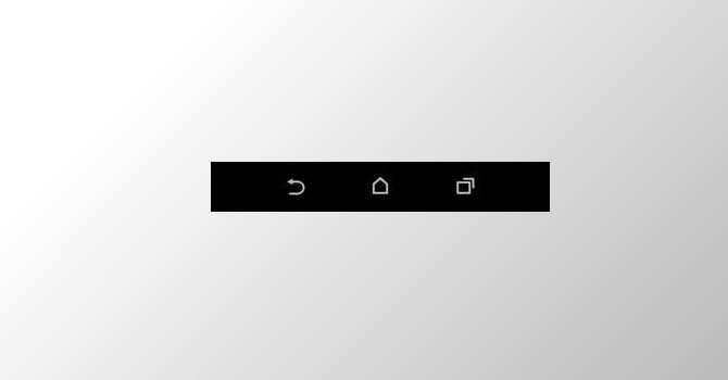 Botones virtuales del HTC M8