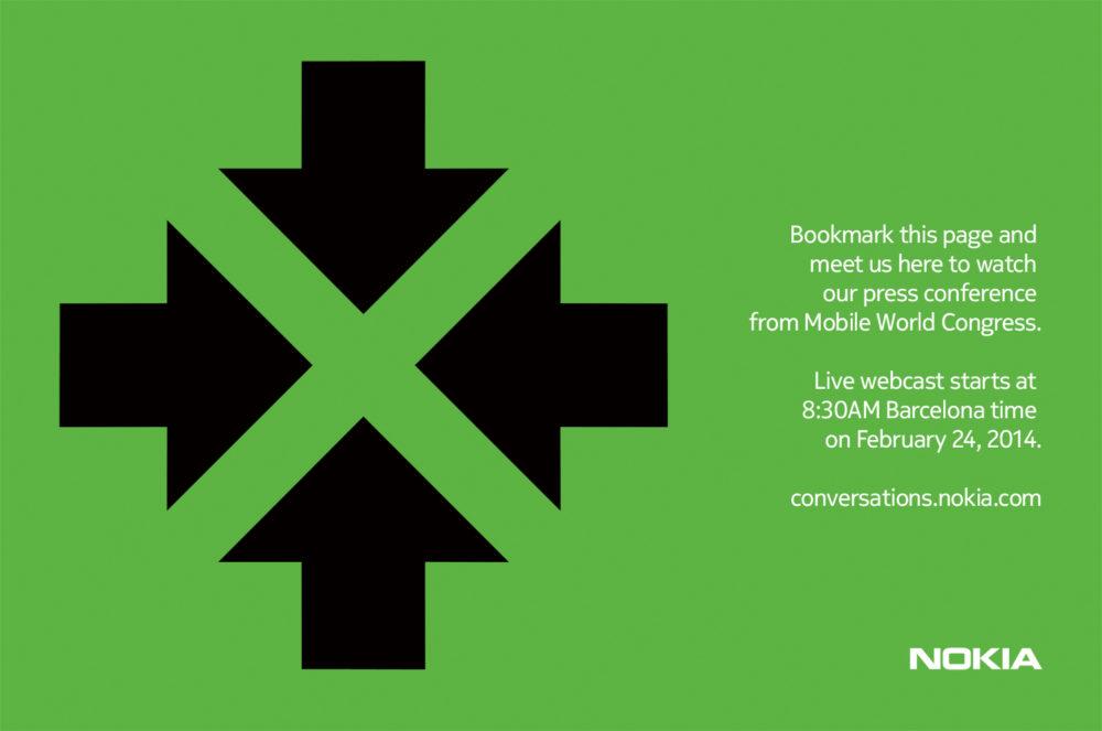 Nokia MWC webcast invite