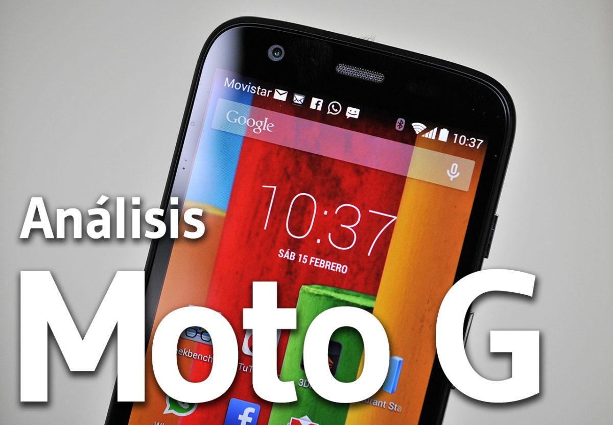 Moto G - Analisis