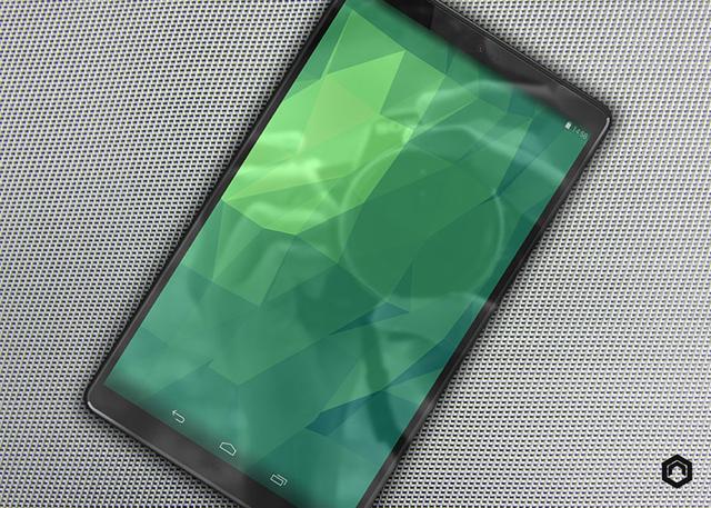 Diseño conceptual del Nexus 8