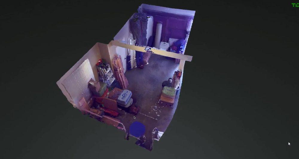 Mapeo 3D con Project Tango