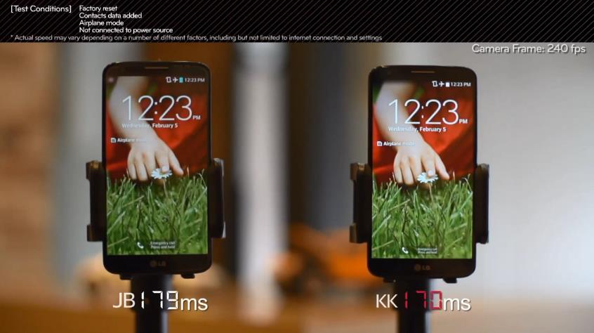 LG G2 con KitKat