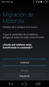 Migración de MotorolaMotorola Assist