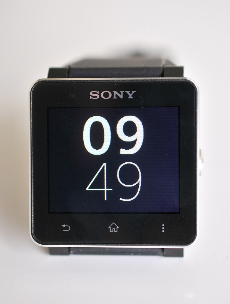 Sony SmartWatch 2 - frontal