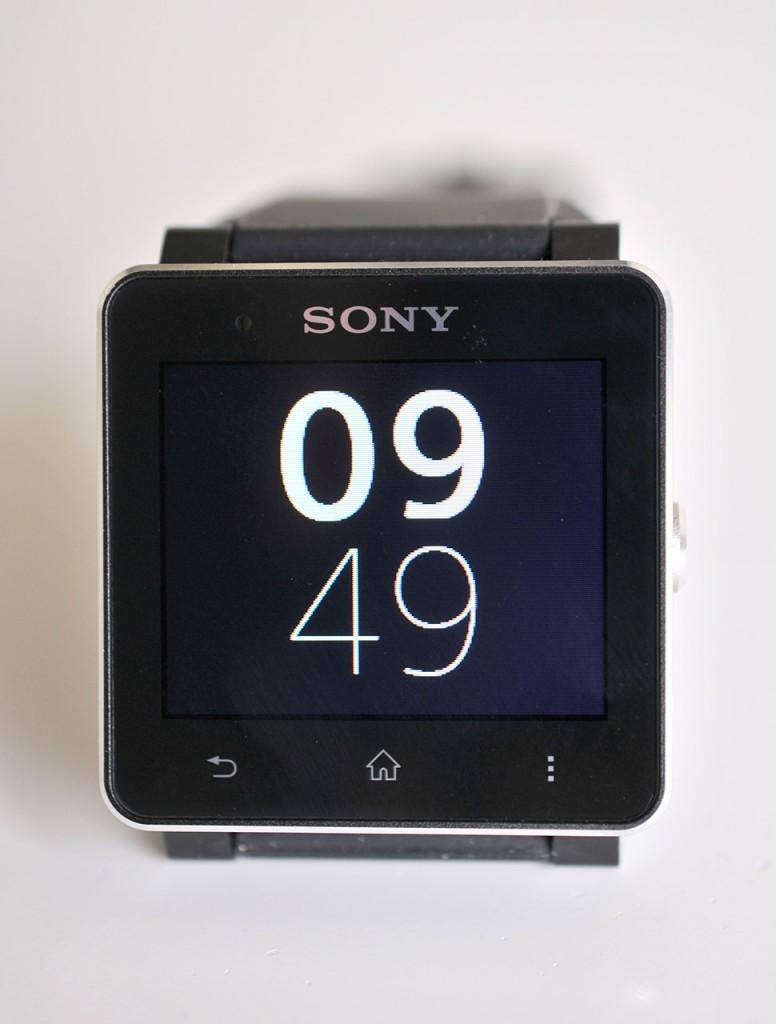 Sony SmartWatch 2 - frontal