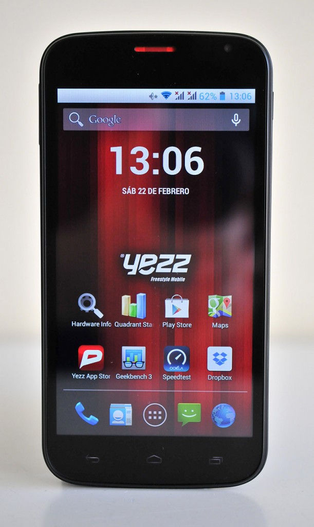 Yezz Andy A5 - Frontal