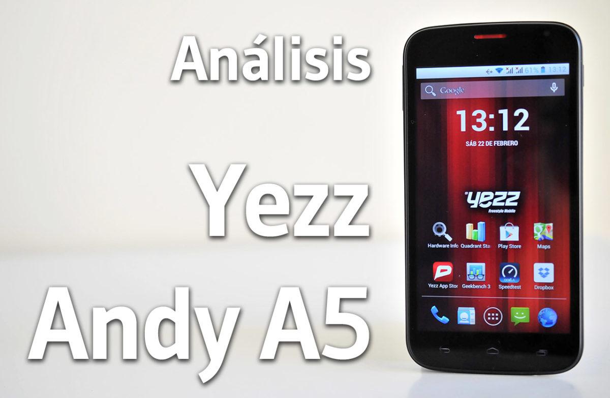 Yezz Andy A5 - Portada