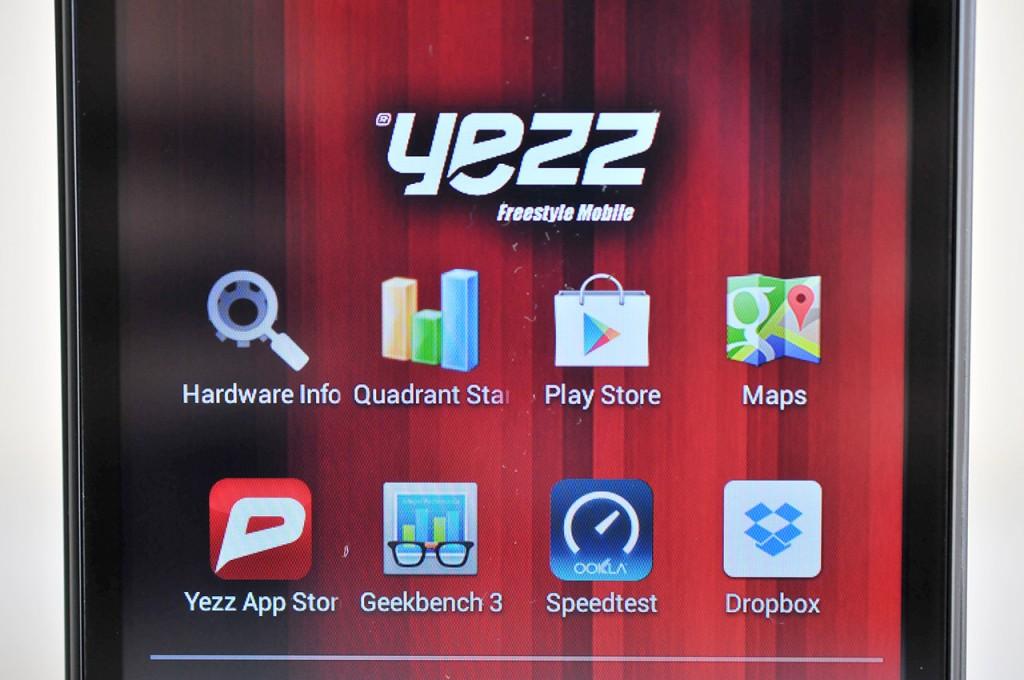 Yezz Andy A5 - pantalla
