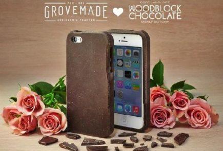iPhone de chocolate