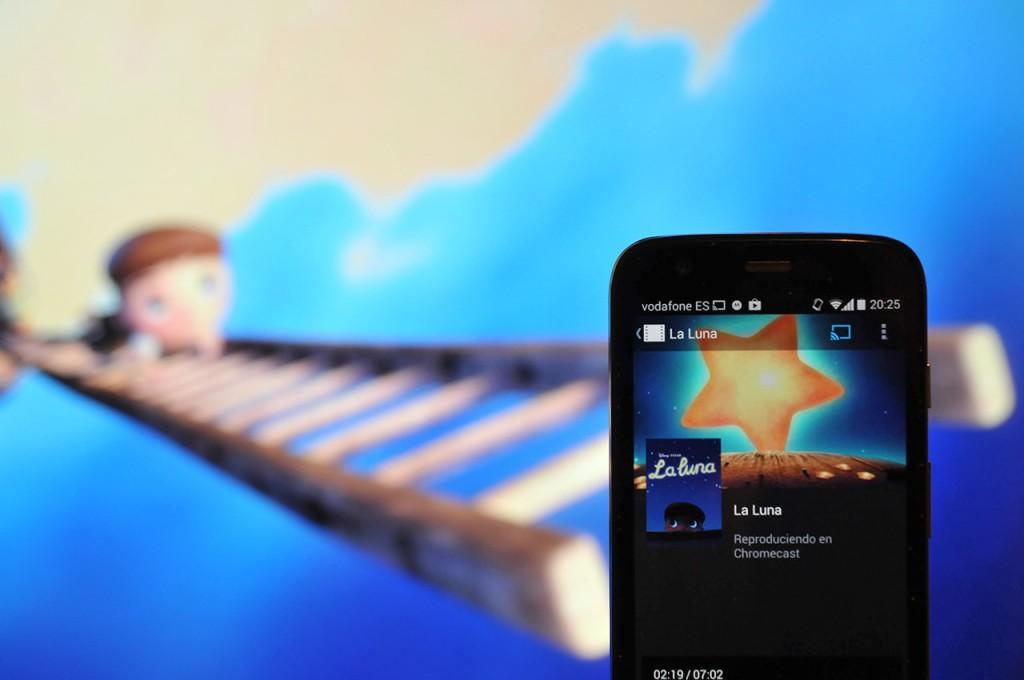 Reproducción de YouTube desde Android en la televisión mediante Chromecast
