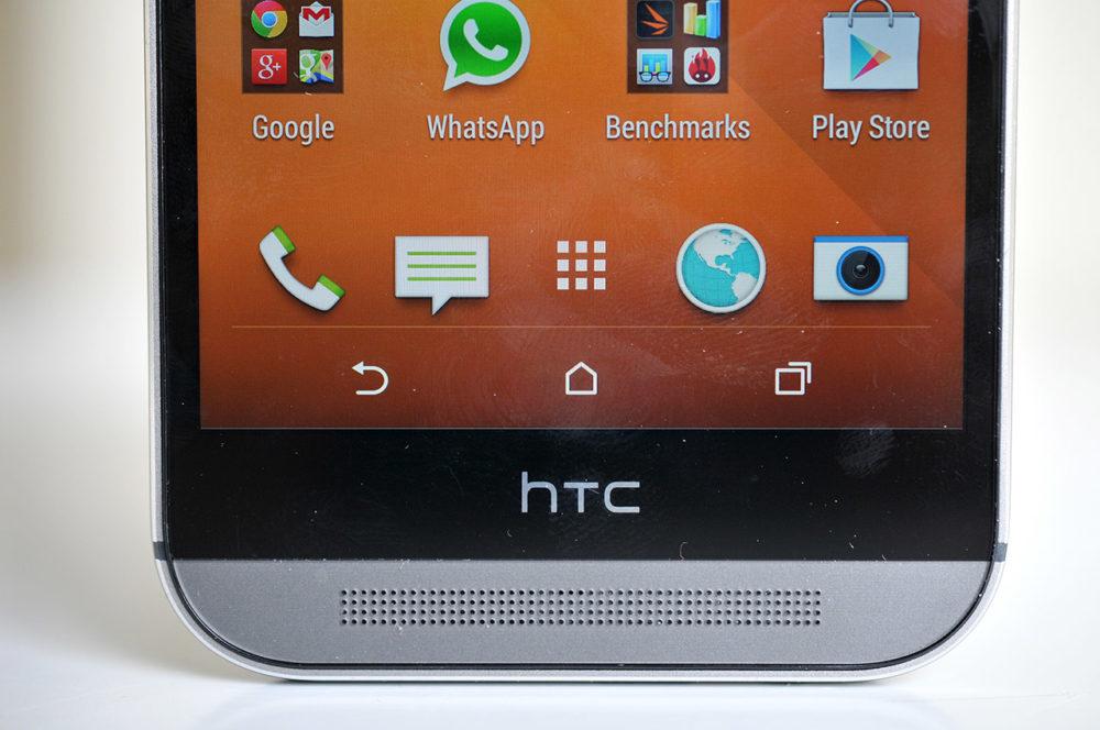 HTC One M8 - Botonera inferior
