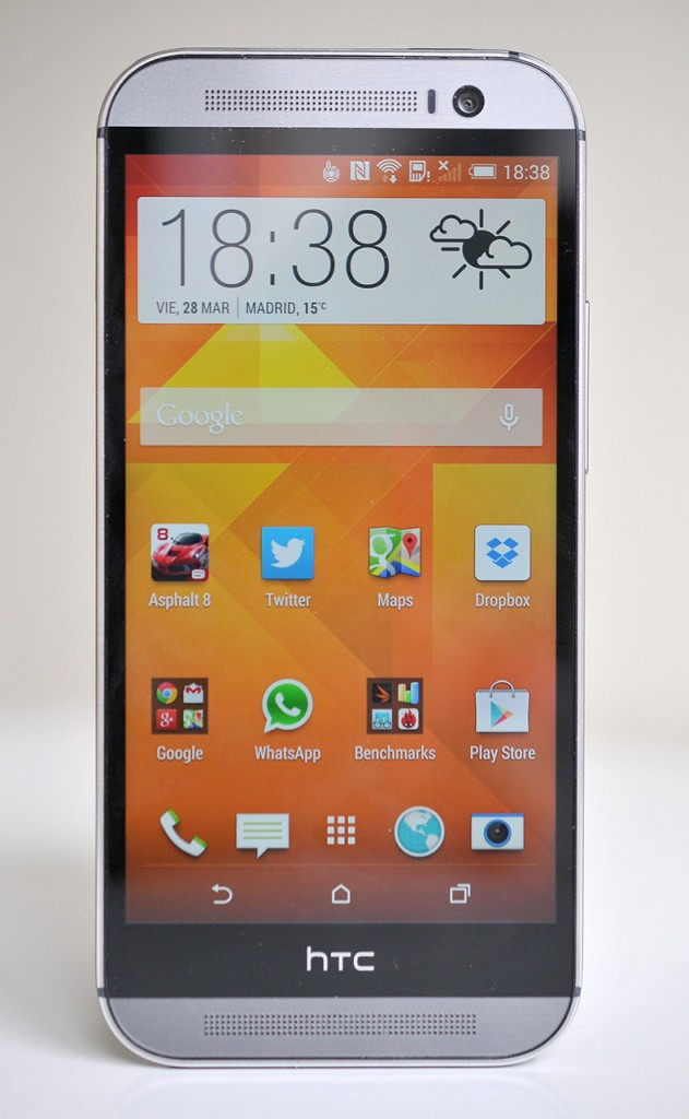HTC One M8 - Frontal