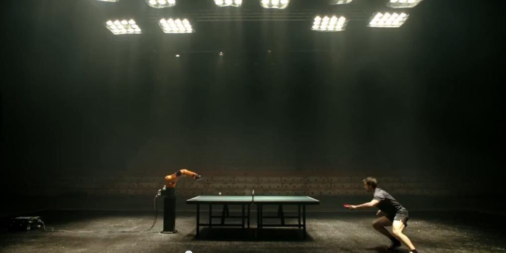 Partida de ping-pong