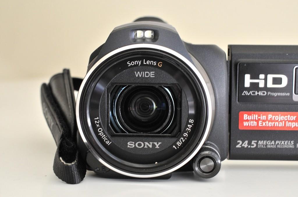 Sony JDR PJ-810E - Frontal