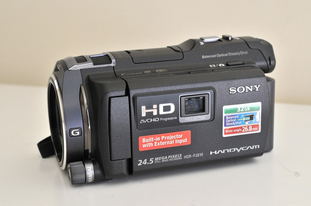 Sony JDR PJ-810E - Lateral