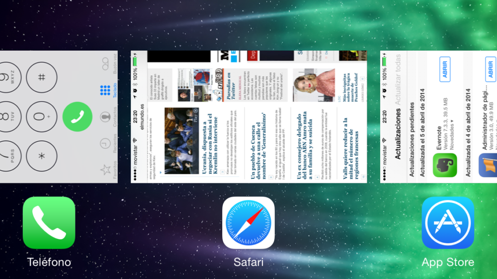Tareas en iOS