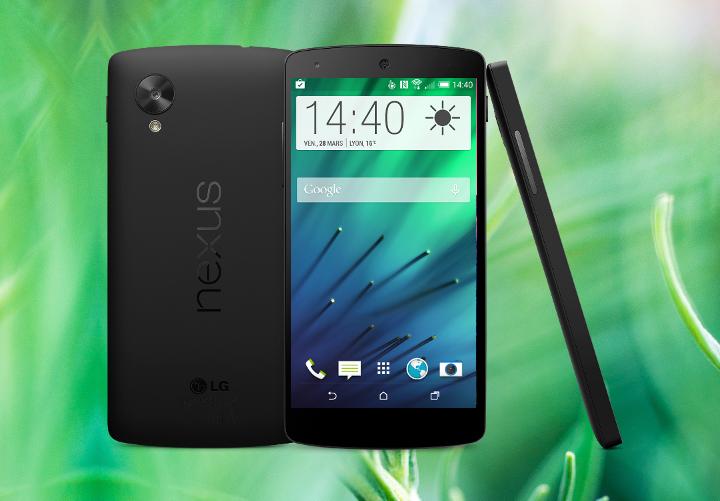 HTC Sense en Nexus 5