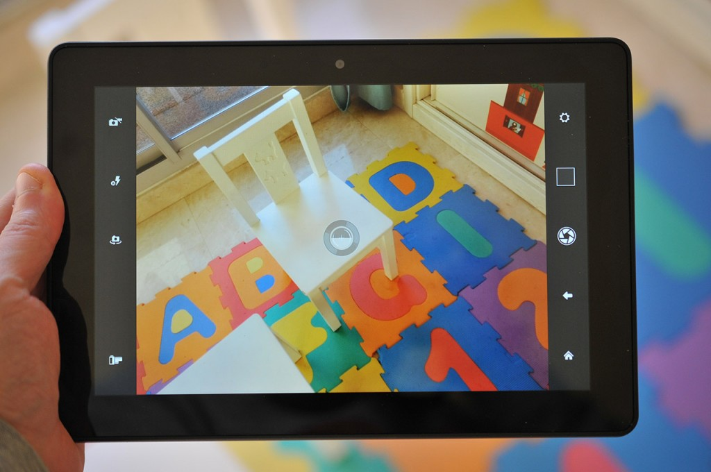 Kindle Fire HDX 89 - Camara