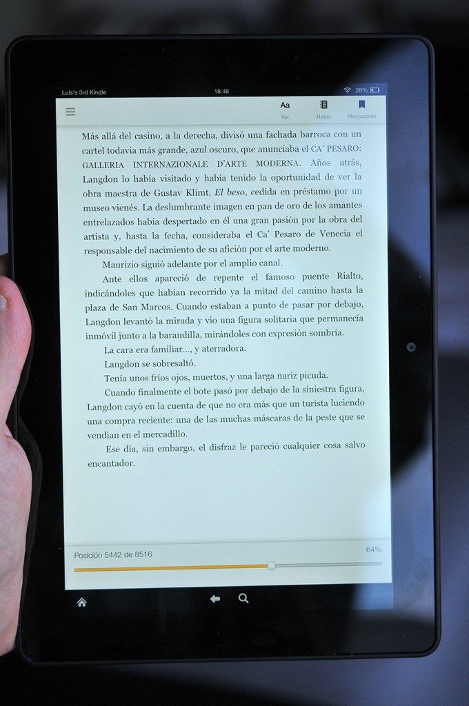 Kindle Fire HDX 89 - Lector ebooks