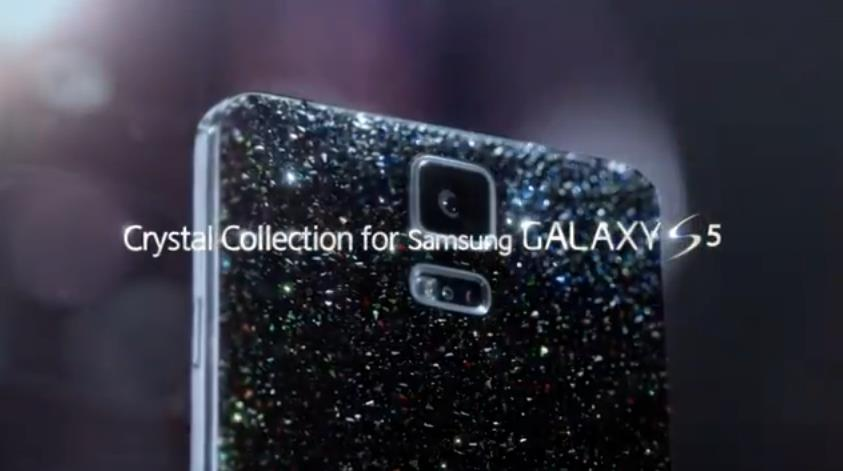 Samsung Galaxy S5 Crystal Collection