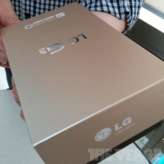 LG G3 dorado