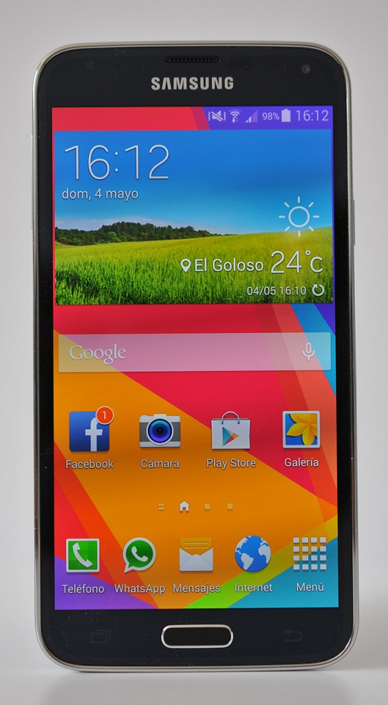 Samsung Galaxy S5 - Frontal